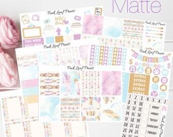 MATTE | Wild at Heart | Weekly Planner Sticker Kit