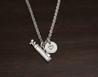 Golf Bag Necklace - Golfer Necklace - Golf Necklace - Sports Necklace - Athlete Necklace - Athlete Gift - Golfer Gift - Golf Jewelry - I/B/H