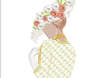 SOUTHERN BELLE machine embroidery download 3 diff sizes ( 2x3.8   3x5 4x6)