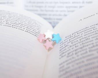 Star Earrings-Elegant and refined-star earrings, nickel free, made in Italy-birthday gift-Minimal earrings