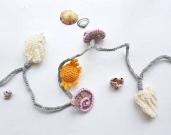Mini Seashore Fairy Light Garland