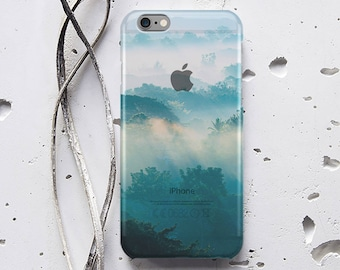 iPhone 6 Case iPhone SE Case for Samsung Galaxy S7 Edge Case Fog Forest iPhone 5s Case iPhone 5 Case iPhone 5c Case iPhone 6s Case p021