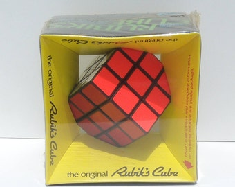 Original 1980 Rubik's Cube, Rubik's Cube New in Box, Sealed Rubik's Cube, Rubiks Cube NIB