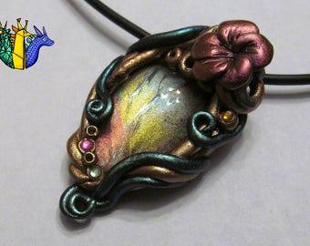 CUSTOM nature pendant or pin