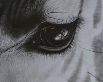 Perspective - original graphite drawing