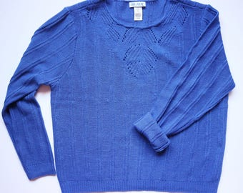 Blue sweater | Etsy