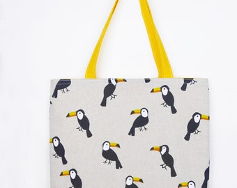 Totebag bag Toucans
