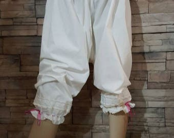 Victorian bloomers,pantaloons ,Victorian undergarment, costumes accessories,cosplay  bloomers steampunk undergarment