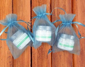 Blue Baby Shower Favors - Whipped  Body Butter Shower Favors - Baby Shower Favors - Whipped Honey Body Butter