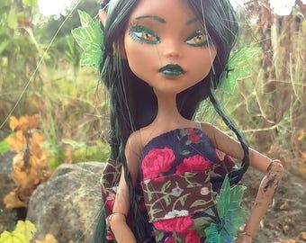 "Monster High repaint OOAK ""Ambre Elfe"""