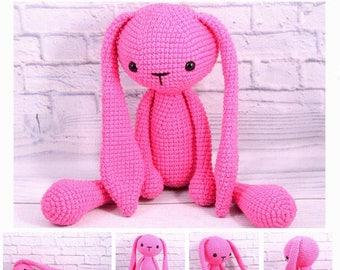 35% SALE Baby toys bunny stuffed animals rabbit bunny crochet Baby toys rabbit plush bunny Pink baby Toy Newborn bunny gift natural bunny