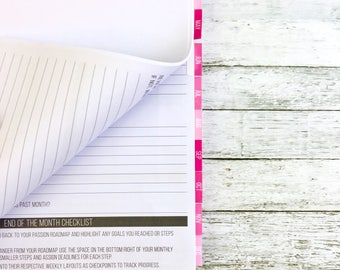 Monthly Tabs | Passion Planner Stickers for the Classic and Compact Size