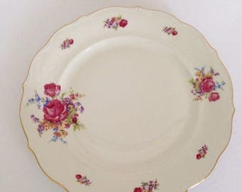 Vintage Bavaria Germany Round Serving Platter