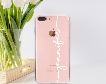 Personalized Iphone 7 Case Personalized Iphone 7 Plus Case Personalized Gift For Her Personalized Iphone 6 Case Silicone iPhone 6 Case-PT108