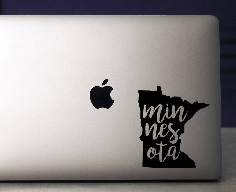Minnesota Minnesota Decal Minnesota Sticker Laptop Decal - Custom vinyl decals minnesota