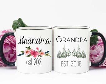Pregnancy Announcement Mug, Pregnancy Announcement Mugs to Grandparents, Pregnancy Reveal Mugs, Pregnancy Reveal Mugs to Grandparents