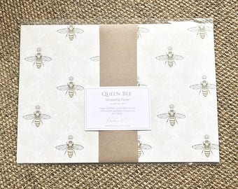Queen Bee, Wrapping Paper