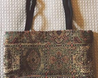 Danny K of Beverly Hills Embroidered Vintage Tote Bag