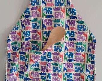 Apron, adjustable apron, kids' apron, kitchen apron