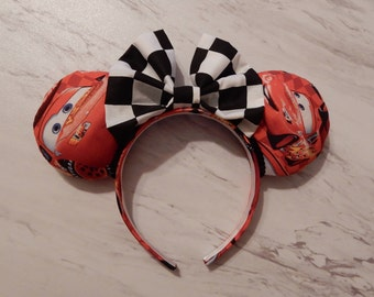 Cars 'Lightning McQueen' Minnie Ears