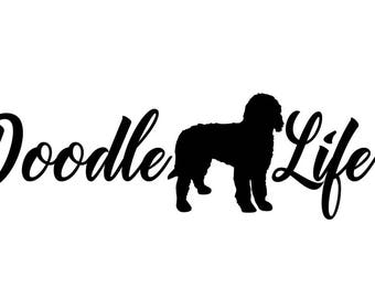 Doodle Life Vinyl Sticker Decal *17 colors to choose from*