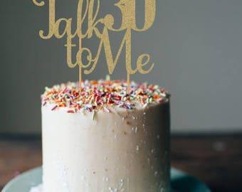 30th birthday decor etsy for 30th birthday cake decoration ideas