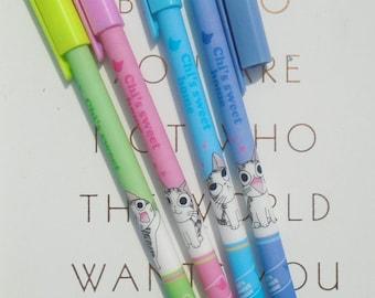 Cute cat pen, writing supplies, kawaii stationery, kawaii pen, cute pen, planner accessories, planner gifts, school supplies