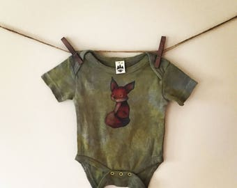 Black Bean and Turmeric Organic Onesie