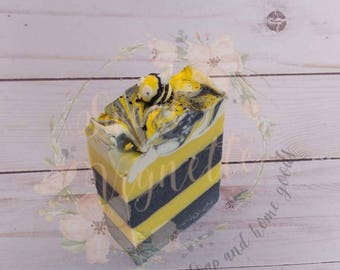 PRE-ORDER Evil Death Bee - Handmade Soap (portion of the sales going to bee conservation)