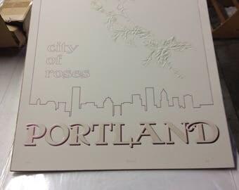 Portland Rose Poster