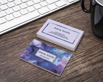 Custom business card etsy editable business card template premade printable business card design custom business card digital wajeb Choice Image