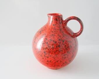 Wächtersbach vase/jug,  West German Pottery Wgp Fatlava, retro, vintage