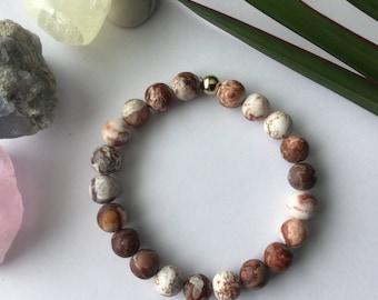 tree Bracelet, turquoise africaine,améthyste, turquoise,blake , pierre lave, Quartz rose, grenat, corail fossile, red, Agathe, Howlite