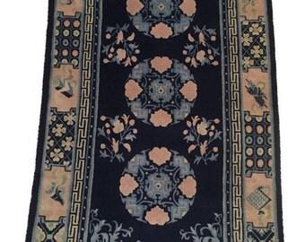 Tibetan Rug - circa 2005   36 x 71 inches