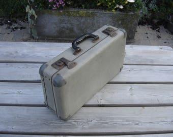 Coffre en carton etsy - Valise carton vintage ...