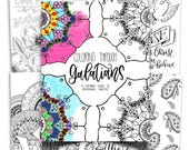 Coloring Through Galatians: A Calming Guide to Devotional Practice