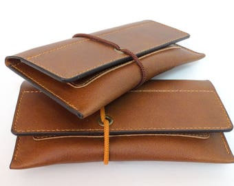 Tobacco pouch leather tobacco pouch
