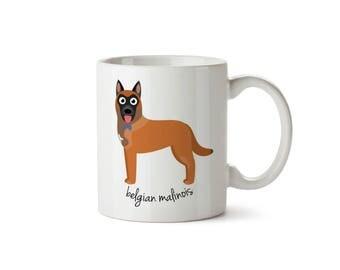 Belgian Malinois Mug (boy)