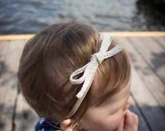 Marlene. Loop. Nylon headband