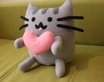 Pusheen Cat Fleece Toy