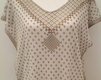 1920s Assuit metal dress Egyptian antique vintage