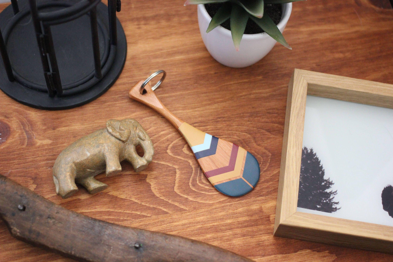 Birthday Gift Gifts Under 25 Arizona Key Chain Paddle Ring Accessory Canoe