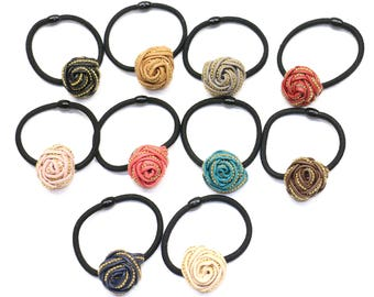 10 Piece Ponytail Holder, Head Rubber band,Hair Elastic