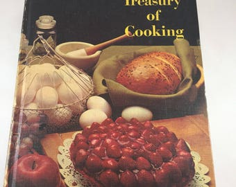 Treasury of Cooking - Random House Hostess Library - Vintage Cookbook - Vintage Recipes - 1960's Cookbook - Volume Two - 1960's Recipes