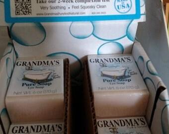 Grandma's Pure & Natural Lye Soap by the bar