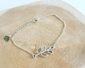 """""""Foliage"""" charm Anklet"""