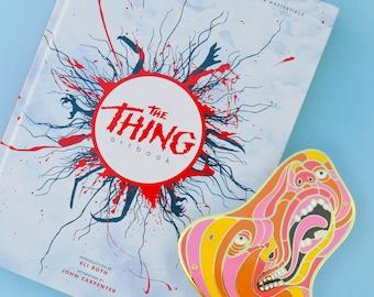 The Thing Artbook - Plus exclusive FREE enamel pin