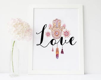 Love Wall Decor | Etsy
