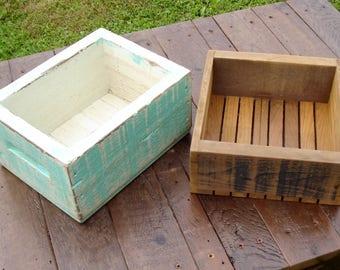 Handmade Pine Boxes