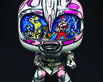 Power Rangers Custom Sketch Popvinyl